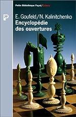 Encyclopédie des ouvertures de Edouard Goufeld