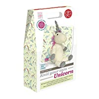 Crafty Kit Company Knit Your Own Unicorn Kit - a complete knitting set including bamboo needles and toy stuffing; perfect for the unicorn fanatic in your life!
