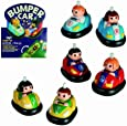 Childs Classic Wind Up Toy Bumper Car with Anti Fall Function - Girls Perfect Ideal Christmas Stocking Filler Gift Present
