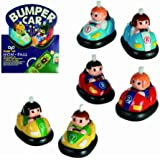 Childs Classic Wind Up Toy Bumper Car with Anti Fall Function