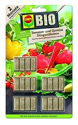 Compo Bio Tomaten- und Gemüse Düngestäbchen und 2 Monate Langzeitwirkung von Compo bei Du und dein Garten