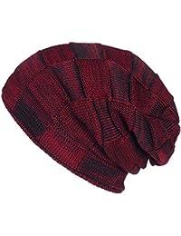 8413a8b4c9a11 SWEDREAM Sombrero de Invierno Gorros de Punto Gorras para Mujeres y Hombres  Sombreros de Suave Invierno