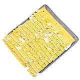 Sentaoa Schnüffelteppich Hunde Fördert Natürliche Nahrungssuche Nase Arbeit für Haustier Haustier Pads Intelligenzspielzeug Matte (Grau 3, 1 Stück)