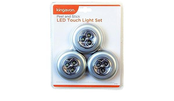 """LED Nachtlicht Notlicht Nachtlampe Beleuchtung /""""Stick /& Push/"""" LED Schrankleuchte"""