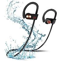 Auriculares inalámbricos Bluetooth,NEWSTYLE Auriculares Bluetooth 4.1 Cascos inálambrico Deportivos,IPX7 RESISTENTE al agua