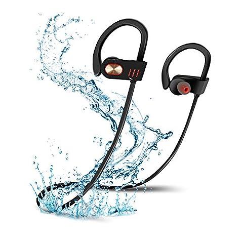 Bluetooth Headphones, NEWSTYLE Wireless In-Ear Sports Earphones with Mic IPX7