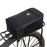 Fancylande Borsa da bicicletta, Tappetino per bagagliaio Borsa a bicicletta portapacchi posteriore borsa da bicicletta multifunzione per Auto Elettrica Bicicletta