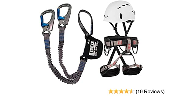Klettersteigset Sports Direct : Lacd klettersteigset ferrata pro evo gurt start helm salewa toxo