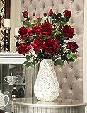 Aufrechtzuerhalten,Künstliche Blumen, hochwertigen emulational Parfüm stieg , purple