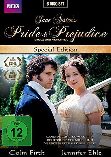 Stolz und Vorurteil - Pride & Prejudice - Jane Austen - New Edition - Special Edition [6 DVDs]