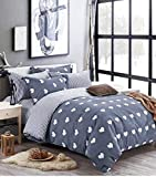 Magnetic Shadow Queen Size AC Comforter Set Duvet Set with Bedsheet and 4