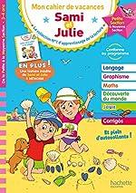 Cahier de vacances Sami et Julie De la PS à la MS de Caroline Marcel