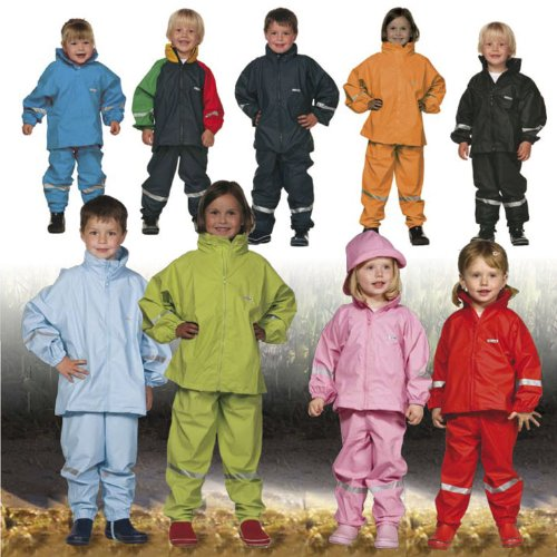 ocean-kids-two-piece-rain-suit-jacket-dungarees-size-4yr-color-red