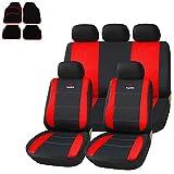 SITU Universal Sitzbezüge für Auto Schonbezug mit 4 teillige Fußmatten SCMS0047-X