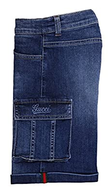 GUCCI Boys Jeans shorts blue 311681-4046