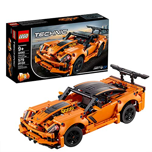 LEGO 42093 Technic Chevrolet Corvette ZR1 Replica, 2 in 1 Collectible Car Model, Advanced Construction Set Best Price and Cheapest