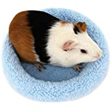 UEETEK Hamster Bed Round Velvet Warm Sleep Mat Pad For Hamster/Hedgehog/Squirrel/Mice/Rats And Other Small Animals
