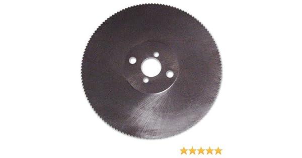 Lama in Acciaio HSS per Troncatrici Ø 250 mm per Taglio Profilati//Pieni in ferro