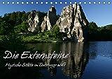 Die Externsteine (Tischkalender 2017 DIN A5 quer): Mystische Stätte im Teutoburger Wald (Monatskalender, 14 Seiten ) (CALVENDO Natur) - Martina Berg