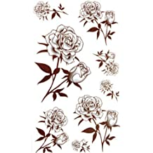 Amazon Fr Tatouage Rose