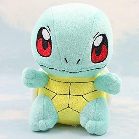 Merssavo POKEMON SQUIRTLE Pokemon del Juguete 15-20CM Mejor Regalo de Halloween para Niños