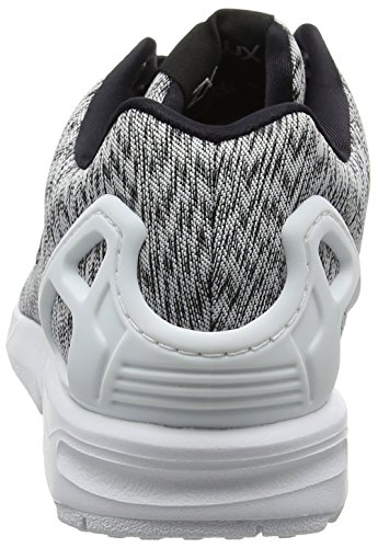 adidas Zx Flux, Baskets Basses Mixte Adulte Gris (Ftwr White/ftwr White/core Black)