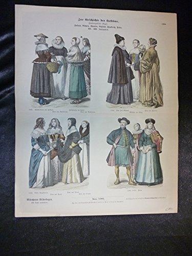 Zur Geschichte der Kostüme - Nr. 1205 - -