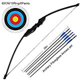 Купить Outdoor Recurve Bow and Arrow Set Archery Training Toy(40LB,5¡ÁArrows,6¡ÁTarget Faces) ¡­