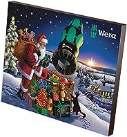 Wera Adventskalender, Flerfärgad, 24-delad