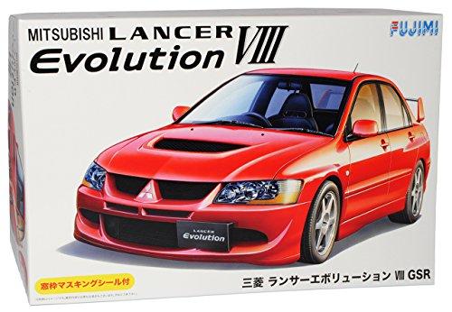 mitsubishi-lancer-evolution-viii-rot-limousine-kit-bausatz-1-24-fujimi-modell-auto-modell-auto
