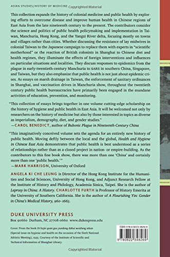 Health and Hygiene in Chinese East Asia: Policies and Publics in the Long Twentieth Century
