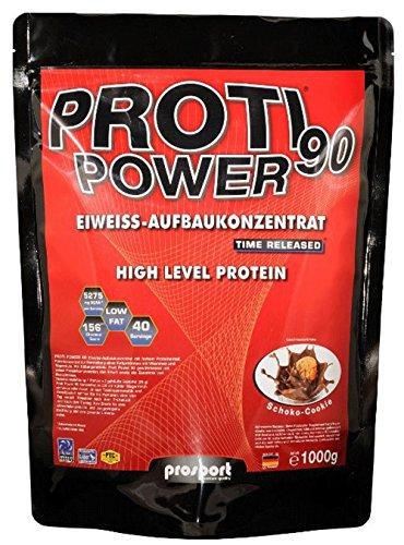 Prosport Proti Power 90, 1000g Beutel, Geschmacksrichtung: Vanille