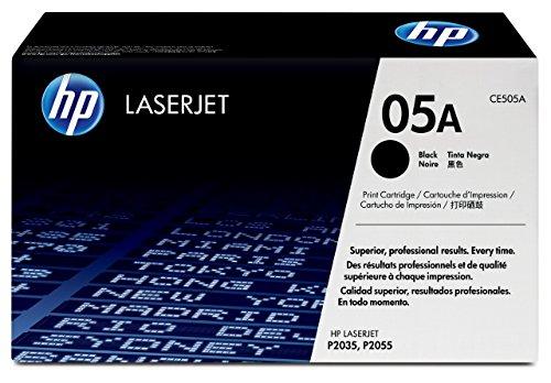 HP 05A Original Toner (geeignet für HP LaserJet P2035, HP LaserJet P2055) schwarz -