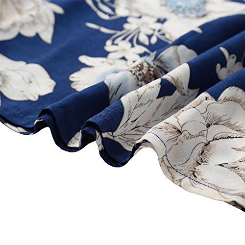 Romacci Damen Kleid * Einheitsgröße Blau