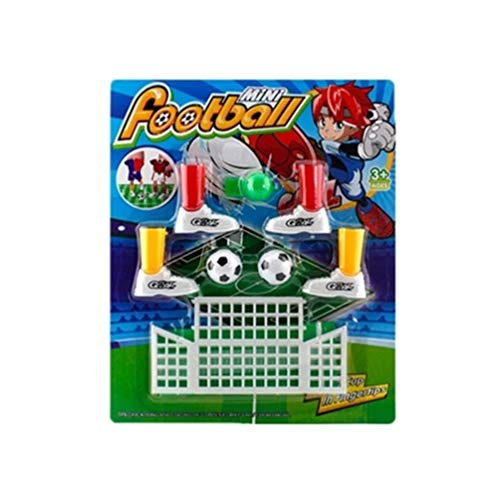 Oyamihin Mini Fußballspiel Finger Toy Football Match Lustiges Tischspiel mit Zwei Zielen - Weiß