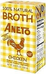Aneto Caldo Natural de Pollo, 1 L