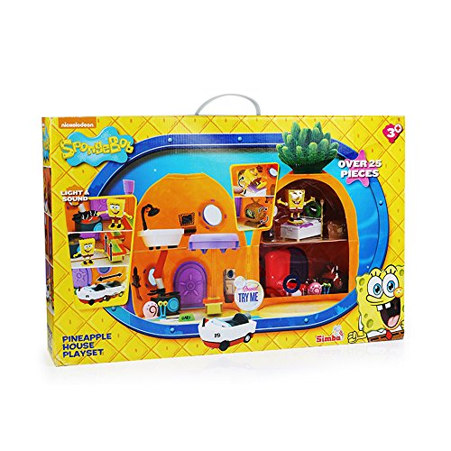Image of Simba Spongebob Pineapple Playset