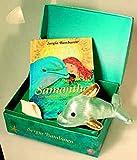 Freundschafts-Schatztruhe mit Buch Samantha, Stofftier Delphi