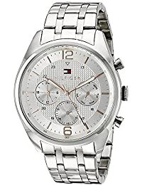 Tommy Hilfiger Analog Multi-Colour Dial Men's Watch - NATH1791186