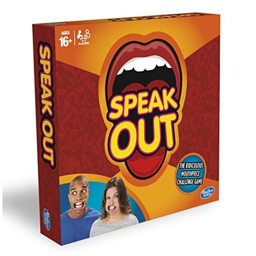 Hasbro-Spiel-Speak-Out