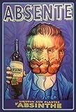Schatzmix Absente - Absinthe Van Gogh Blechschild