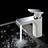 Agua Grifos Cocina Lavabo Mezclador de agua grifo mezclador grifo cascada baño solo agujero mueble
