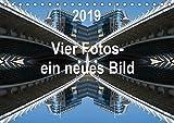Vier Fotos - ein neues Bild (Tischkalender 2019 DIN A5 quer): Jahreskalender 2015, Ausgangspunkt ist jeweils ein Foto. Dieses Foto wird horizontal ... (Monatskalender, 14 Seiten ) (CALVENDO Orte)