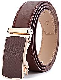 BULLIANT Hombre Cinturón-Cuero Automática Cinturón De Hombre 35MM-Tamaño  Ajuste 483580ae66ae