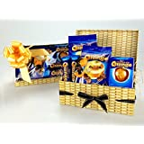 TERRY'S Chocolate ORANGE Ultimate HAMPER Including JOSEPH DOBSON LOLLIES Wicker Effect Box . Free Shipping . Sharing Gift Birthday Get Well Congratulations Thank You New Home Etc Unique Gift