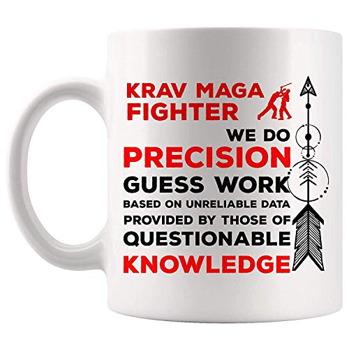 TKMSH Funny Krav Maga Noun Definition Meaning Instructor Gift Mug Coffee  Cup Mugs | Master Master Martial Art Coach Trainer Training Fighter