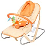 Tiffy and Toffee Baby Shower Bouncer and Rocker (Pumpkin Orange)