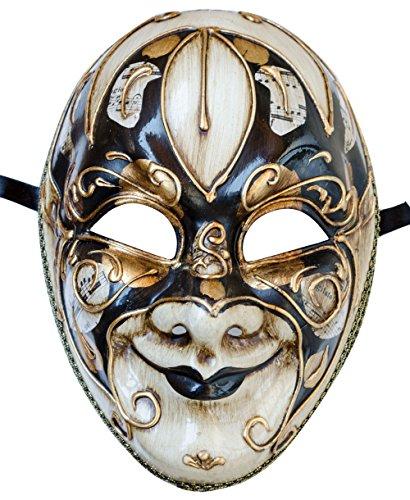 Lanna Infantil Máscara Facial Máscara Veneciana Joker Hombre Carnaval Ball Máscara