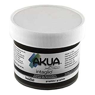 Akua Intaglio Ink 2 Oz Graphite Gray by Akua