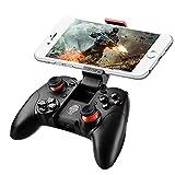 Contrôleur de Jeu ARCHEER Console sans Fil Bluetooth Manette avec Clip pour iPhone iOS/Smartphones Android, Support Tablet /PC/PS3/Samsung Gear VR/Emulateur